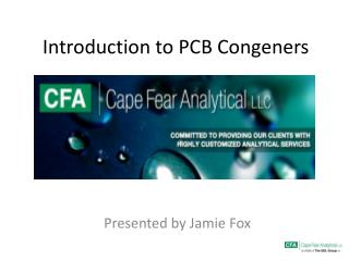 Introduction to PCB Congeners