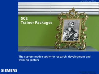 SCE  Trainer Packages