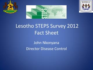 Lesotho STEPS Survey 2012 Fact Sheet