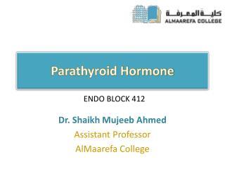 Parathyroid Hormone