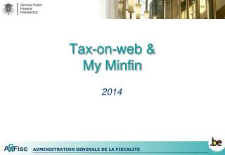Tax -on-web & My Minfin