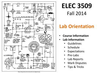 ELEC 3509  Fall 2014 Lab Orientation