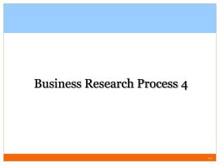 Business Research Process  4