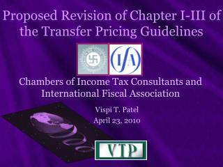 Proposed Revision of Chapter I-III of the Transfer Pricing Guidelines