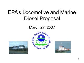 EPA's Locomotive and Marine Diesel Proposal