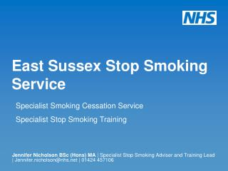 East Sussex Stop Smoking Service