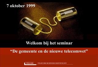 Welkom bij het seminar