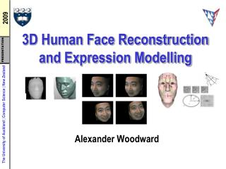3D Human Face Reconstruction and Expression Modelling