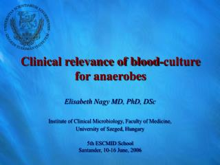 Clinical relevance of blood-culture for anaerobes