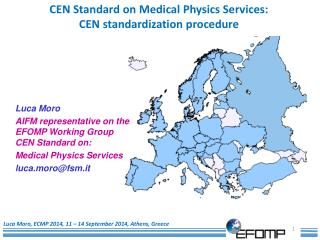 Luca Moro, ECMP 2014, 11 – 14 September 2014, Athens, Greece