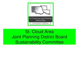St. Cloud Area Joint Planning District Board Sustainability Committee