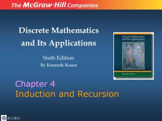 Chapter 4 Induction and Recursion