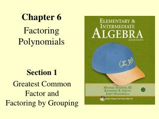 Chapter 6 Factoring Polynomials
