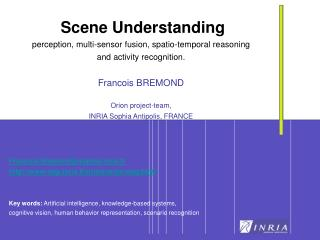 Scene Understanding perception, multi-sensor fusion, spatio-temporal reasoning