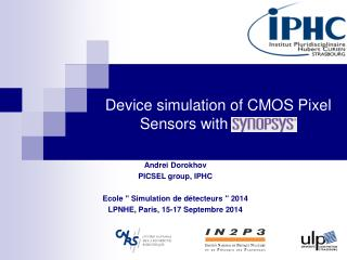 Device simulation of CMOS Pixel Sensors with  synopsys