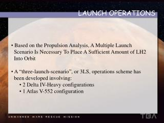 LAUNCH OPERATIONS