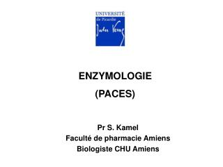 ENZYMOLOGIE (PACES)