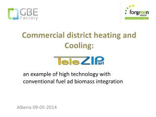 Commercial district heating and Cooling: