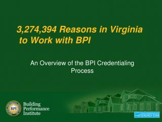 3,274,394 Reasons in  Virginia  to Work with BPI