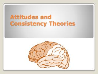 Attitudes and Consistency Theories