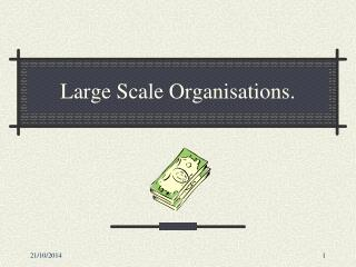Large Scale Organisations.
