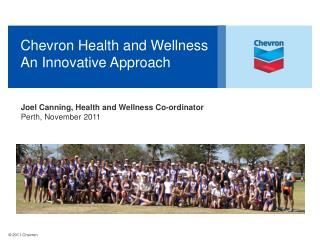 Chevron Health and Wellness An Innovative Approach
