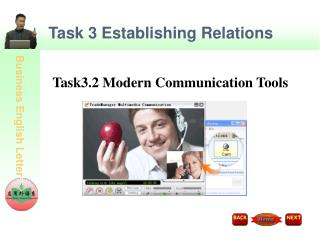 Task 3 Establishing Relations