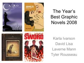 The Year's Best Graphic Novels 2008