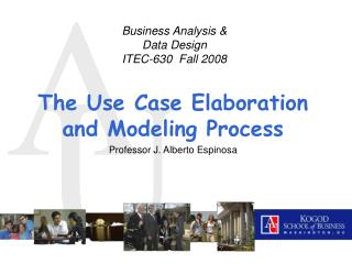 Business Analysis & Data Design ITEC-630  Fall 2008