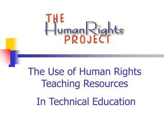 The Use of Human Rights Teaching Resources