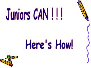 Juniors CAN ! ! !