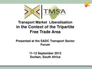 Transport Market Liberalisation in the Context of the Tripartite Free Trade Area