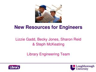 New Resources for Engineers