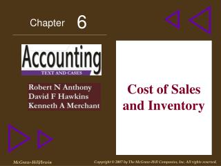 Cost of Sales and Inventory