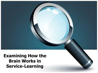 Examining How the Brain Works in Service-Learning