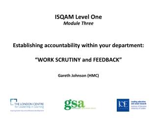 ISQAM Level One Module Three