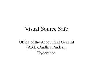 Visual Source Safe