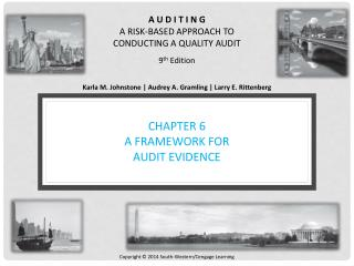 Chapter 6 A Framework for Audit Evidence