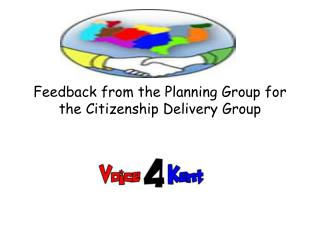 Feedback from the Planning Group for the Citizenship Delivery Group