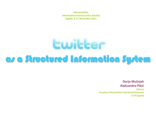 as a Structured Information System