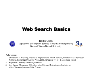 Web Search Basics