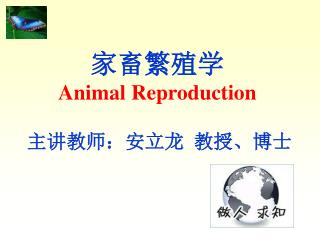 家畜繁殖学 Animal Reproduction