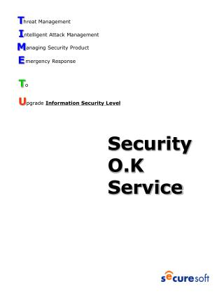 Security O.K     Service