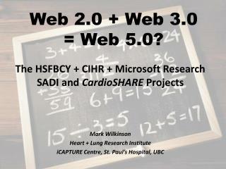Web 2.0 + Web 3.0 = Web 5.0?