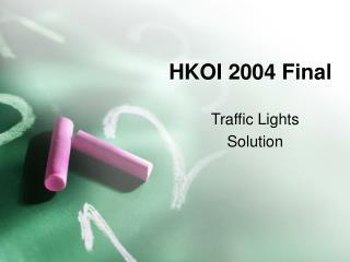 HKOI 2004 Final