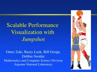 Scalable Performance Visualization with Jumpshot