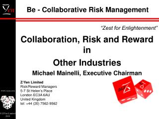 Be - Collaborative Risk Management