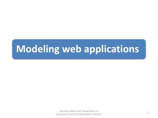 Introduction to RE RE basics Requirements specification RE process RE specifics in web engineering