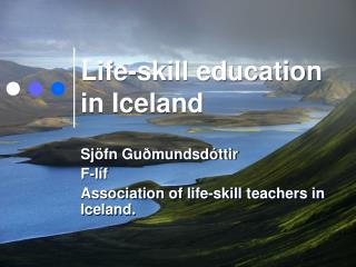 Life-skill education in Iceland