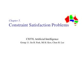 Chapter 5. Constraint Satisfaction Problems